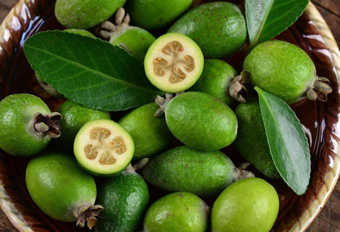Фейхоа: вкус на что похож, вкусовое описание недозрелого, зрелого и перезрелого плода