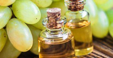 Уход виноградным маслом